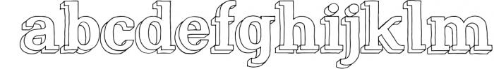 Nafisyah Slab Display Font Collection Font LOWERCASE