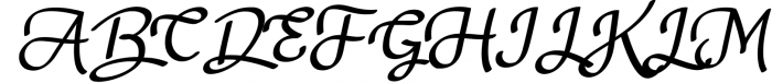Nagitta Script Font UPPERCASE