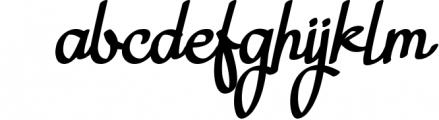Nagitta Script Font LOWERCASE