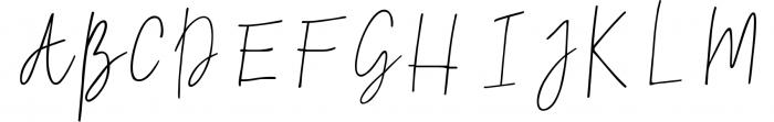 Natural Font UPPERCASE