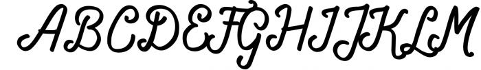 Navara Brush Font Font UPPERCASE