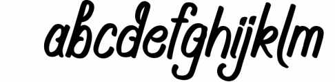 Navara Brush Font Font LOWERCASE
