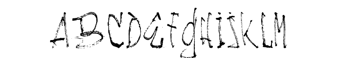 NACHOS & TV Light Font UPPERCASE