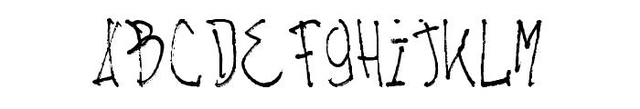 NACHOS & TV Light Font LOWERCASE
