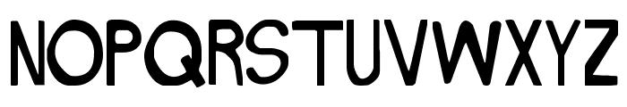 NAKED Font UPPERCASE