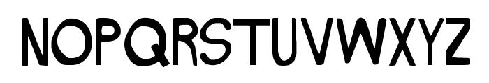 NAKED Font LOWERCASE
