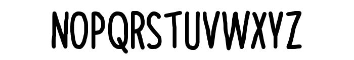 NAL Hand Font UPPERCASE