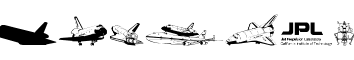 NASA Dings Font LOWERCASE