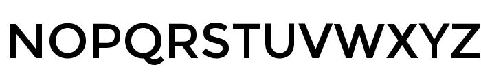 NATS Font UPPERCASE