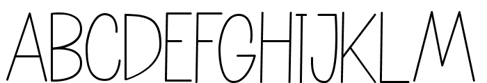 NATURE green Font LOWERCASE