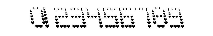 NAUJOKS LOVE Font OTHER CHARS