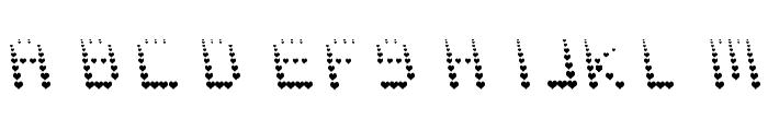 NAUJOKS LOVE Font UPPERCASE