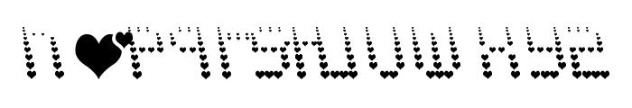 NAUJOKS LOVE Font LOWERCASE