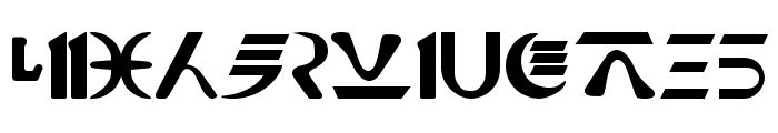 Naboo_Futhork Font UPPERCASE