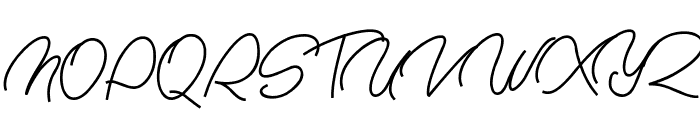 Nachel Victoria Font UPPERCASE