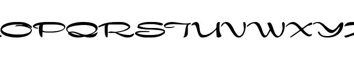 Nadejda Bold Font UPPERCASE