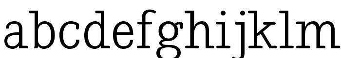 Nadia Serif Normal Font LOWERCASE