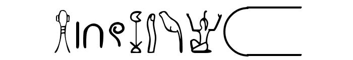 Nahkt Font OTHER CHARS