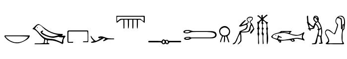 Nahkt Font LOWERCASE