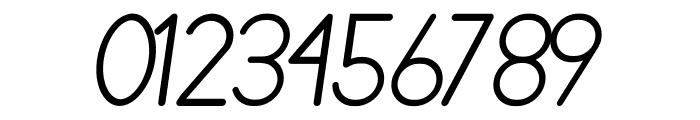 Nairi Amber Sanserif Italic Font OTHER CHARS