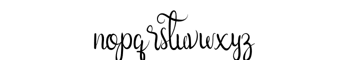 Nairi Amber Font LOWERCASE