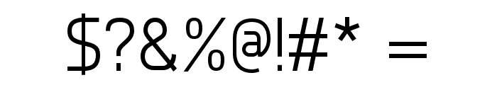Nairi Normal Font OTHER CHARS