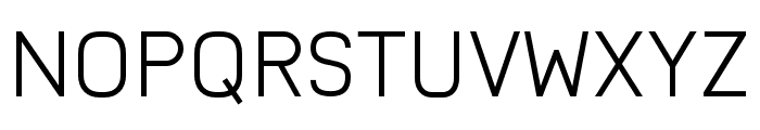 Nairi Normal Font UPPERCASE