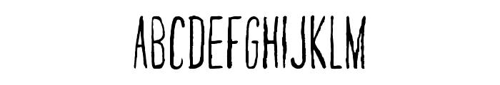 Nairobi Font UPPERCASE