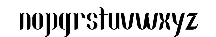 Nallo Font LOWERCASE