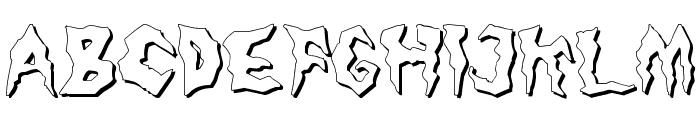 Nameless Harbor Font UPPERCASE