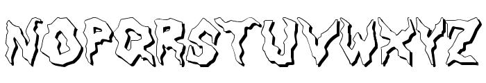 Nameless Harbor Font LOWERCASE
