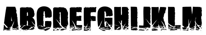 NamesBrutas Font LOWERCASE
