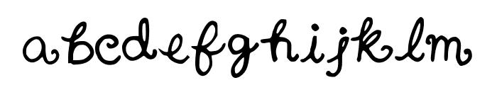 Nanaimo Font LOWERCASE