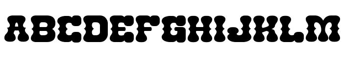Nantoka Western Font UPPERCASE