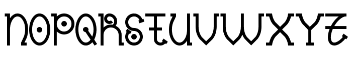 Nantronte Font UPPERCASE