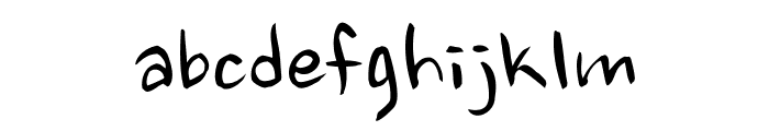 Nanum Brush Script OTF Font LOWERCASE