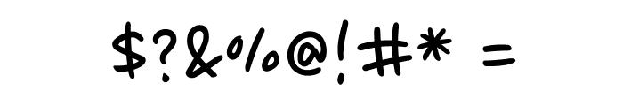 Nanum Pen Script OTF Font OTHER CHARS