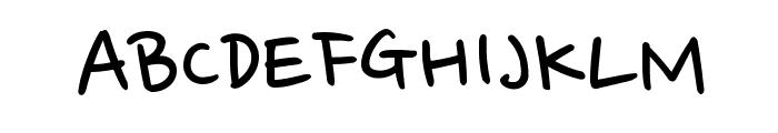 Nanum Pen Font UPPERCASE