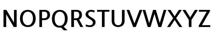 NanumGothic Bold Font UPPERCASE