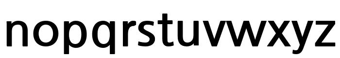 NanumGothic Bold Font LOWERCASE