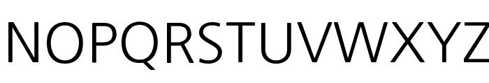 NanumGothic Font UPPERCASE