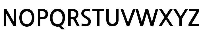 NanumGothicBold Font UPPERCASE