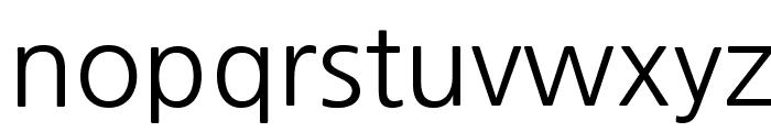 NanumGothic Font LOWERCASE
