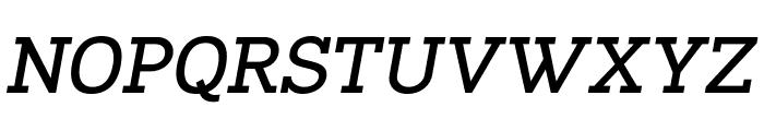 Napo Bold Italic Font UPPERCASE