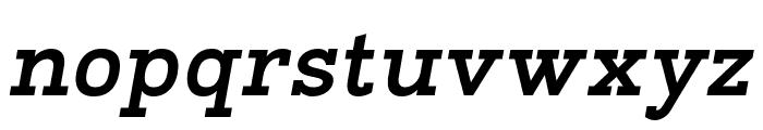 Napo Bold Italic Font LOWERCASE
