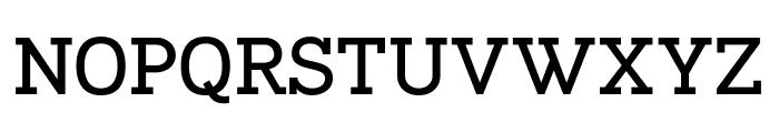 Napo Bold Font UPPERCASE