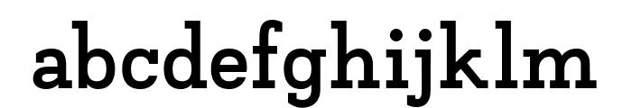 Napo Bold Font LOWERCASE