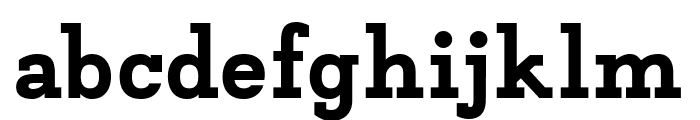 Napo ExtraBold Font LOWERCASE