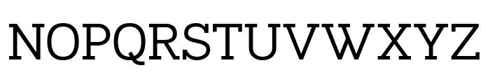 Napo-Regular Font UPPERCASE