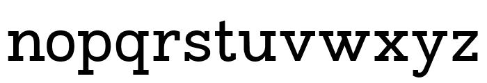 Napo-Regular Font LOWERCASE